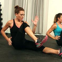 Jeanette Jenkins Blast the Belly Fat, 10 minute hard core workout