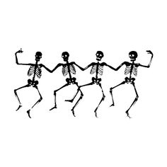 free halloween dance clipart public domain halloween clip art images and graphics - Halloween Skeletons
