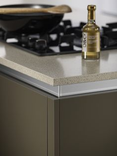 Bushboard's brand new M-Stone quartz worksurfaces offer stylish stone at a steal Kitchen Utilities, Quartz Stone, Kitchen Worktops, Ivory, Stylish, Room, Decor, Decoration, Decorating