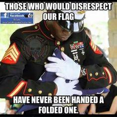 flag disrespect