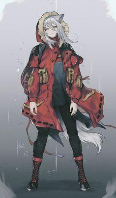 - - Having difficulty discovering anime? Anime Girl Neko, Art Anime Fille, Anime Wolf Girl, Cool Anime Girl, Anime Art Girl, Manga Girl, Anime Girls, Manga Kawaii, Estilo Anime