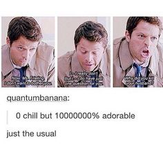 Best scene to ever be supernatural tbh. Oh Cas.