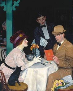 Manners for Men: At a Restaurant - Edwardian Promenade