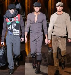 Image detail for -collection for men introduced shearlings newspaper boy hats a nd suits ...