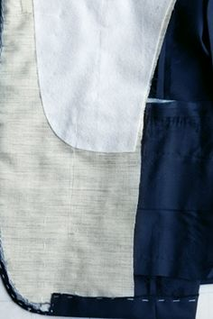 Full-Canvas Construction:  A suit's inner canvas lining is what gives the suit its shape and form.