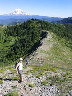 juniper ridge hike in Washington state
