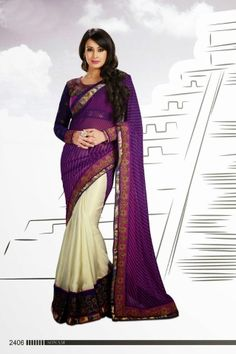 Buy Designer Saree [#Amb2406] Price: 2590 Rs. For More Detail Whatsapp @ +919827531001 Or Email@ Support@AanchalFashion.com