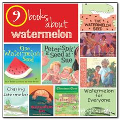 9 books about watermelon - Gift of Curiosity
