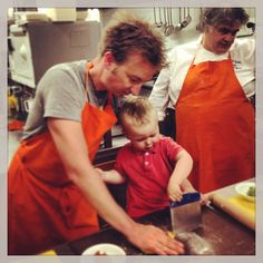 Cooking with Michelin Star Chef Titus of @Melvin - Instagram by @n_montemaggi