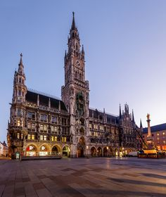 Munich Cathedral, Marienplatz, Germany  This city will be in my heart forever...