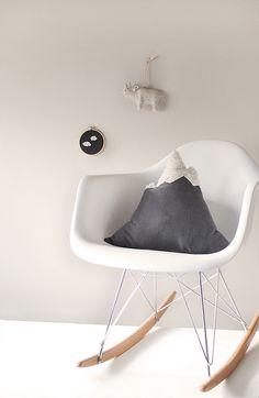 DIY mountain pillow for Design Sponge