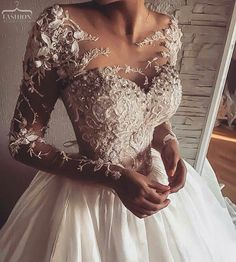 Wonderful Perfect Wedding Dress For The Bride Ideas. Ineffable Perfect Wedding Dress For The Bride Ideas. Elegant Wedding Dress, Dream Wedding Dresses, Bridal Dresses, Expensive Wedding Dress, Dresses Dresses, Sweater Dresses, Wedding Dress Corset, Dresses 2016, Lace Wedding