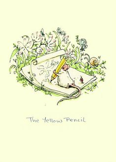 Anita Jeram :: The Yellow Pencil