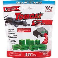 Shop for Tomcat Mouse Killer I (Kid and Dog Resistant Refillable Mouse Bait Station, B. Best Mouse Bait, Rat Bait Stations, Traps Workout, Bait Trap, Mouse Traps, Pest Control, Outdoor Gardens, Mice, Pet Paws