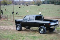 Cummins in a chevy | Cummins Diesel Conversion 87 Chevy Short Bed very similar to mine...