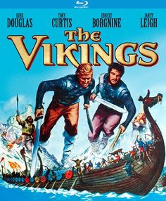 The Vikings - Blu-Ray (Kino Lorber Region A) Release Date: Available Now (Amazon U.S.)