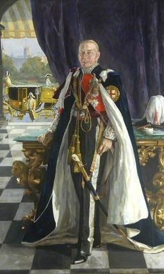 The Right Honourable Earl of Lonsdale (Sir John Lavery, R. Glasgow Museum, Order Of The Garter, Nobel Prize In Literature, National Portrait Gallery, Historical Art, Chivalry, Traditional Paintings, Art Uk, Stop Motion