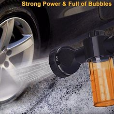 Foam Car washer Sprayer Garden Hose Nozzle Sprayer With 8 modes For Car Pet Plants 2020 High Quality pressure washer Car Wash Soap, Washing Soap, Car Washer, Outdoor Gadgets, Pet Shampoo, Car Cleaning, Garden Hose, Bottle Garden, Clean House