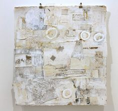 """sweetpeapath:    claredreams:  References No.5  by Karen Laborde Lapin  collage on paper - 28"""" x 28"""" framed      http://www.sorengallery.com/Laborde_show10.html"""