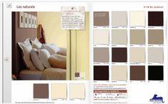 Couleur chambre à coucher. Nuancier gamme couleur naturelle pour chambre à coucher adulte de Dulux Valentine
