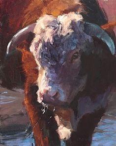 Bullish by Daria Shachmut Oil ~ 20 x 16