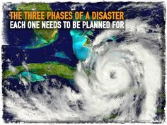 The Three Phases of a Disaster: Each One Needs To Be Planned For
