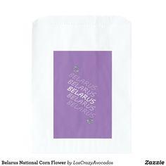 Belarus National Corn Flower Favor Bag