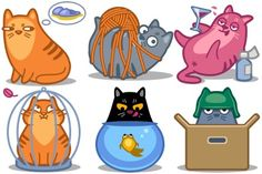 Meow Icons icon archive funny start