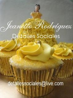 Cupcakes Princesa Bella