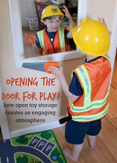 Open Toy Storage: Inviting Our Children to Play