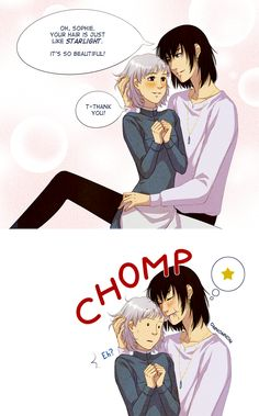 Howl's moving castle: He never learns... by *alexielart on deviantART