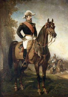 Alfred Dedreux - Portrait équestre de Napoléon III - Napoléon III — Wikipédia