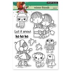 Penny Black - Clear Stamp - Winter Friends,$16.49