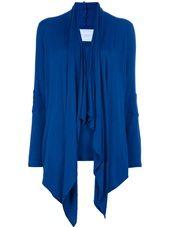 Loungewear - Poupées Russes Wrap Tee in Lapis Blue