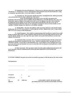 Sample Printable Power Of Attorney  Appointment Of Property
