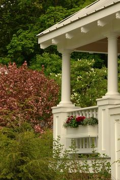 The Cottage Company of Harbor Springs Luxury Interior Design, Interior Paint, Porches, Exterior House Siding, Home Porch, Exterior Paint Colors, Stain Colors, Outdoor Living, Outdoor Decor