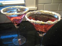 Love this Birthday Cake Martini @StylebyTiffani.