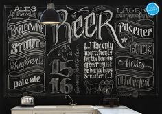 beer blackboard - Buscar con Google