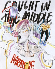 For everything Paramore check out Iomoio Pintura Hippie, Paramore Hayley Williams, Hayley Paramore, Indie, Fanart, Emo Bands, My Chemical Romance, Pink Floyd, Music Artists
