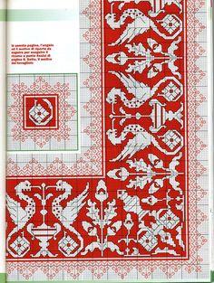 7 Cross Stitch Borders, Cross Stitch Charts, Cross Stitch Designs, Cross Stitching, Cross Stitch Embroidery, Embroidery Patterns, Hand Embroidery, Cross Stitch Patterns, Blackwork