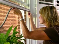 Tip of the Day: Weatherstripping your home is a fairly simple DIY project that can save you a significant amount off your energy bill, whether it's cold or hot outside. V-shaped tension seals come in vinyl or metal. Tubular seals are available in rubber, vinyl, or silicone. Avoid using felt, which doesn't hold up well in high-traffic or wet conditions, and closed cell foam products whose manufacturing process produces greenhouse gases.