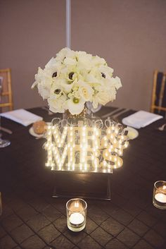 marquee light table numbers, photo by Maria Mack http://ruffledblog.com/pennsylvania-circus-inspired-wedding #tablenumbers #circus #weddingideas