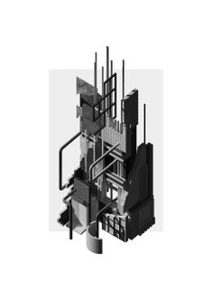 MEMORY PALACE – S//A Isometric Drawing, Chimera, Willis Tower, Palace, Presentation, Memories, Architecture, Architectural Drawings, Naples