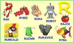 ABECEDA PÍSMENO R Polish Language, Baby List, Diy And Crafts, Alphabet, Education, Logos, Alpha Bet, Logo, Onderwijs