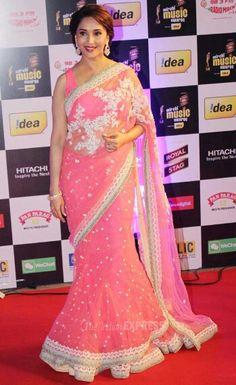 Exclusive collection of bridal sarees, bridal and wedding saris online shopping, designer bridal sarees Bollywood Saree, Indian Bollywood, Bollywood Fashion, Desiner Sarees, Wedding Sari, Elegant Saree, Net Saree, Madhuri Dixit