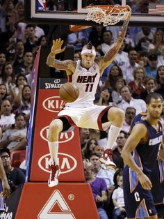 Chris Andersen Photos: Birdman's Year With The Miami Heat In Pictures (PHOTOS)