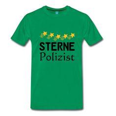 Sterne Polizist- tolle Shirts und Geschenke für ausgezeichnete Polizisten. #sterne #auszeichnung #fünfsterne #polizist #polizisten #polizei #berufe #shirts #geschenke