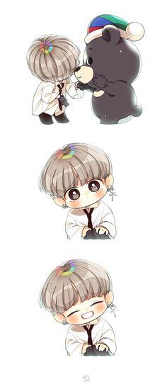 Awww chibi Tae