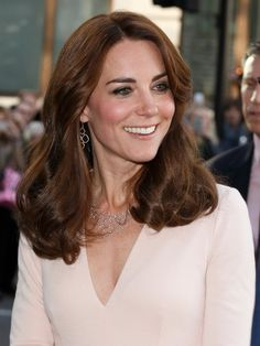 Pin for Later: The 1 Accessory Power Women Rarely Wear Kate Middleton Will Often Match Her Necklace to Her Earrings