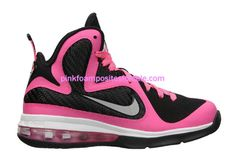 Lebron 9 Laser Pink   #Pink #Womens #Sneakers